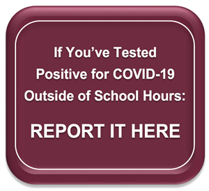 Positive COVID button