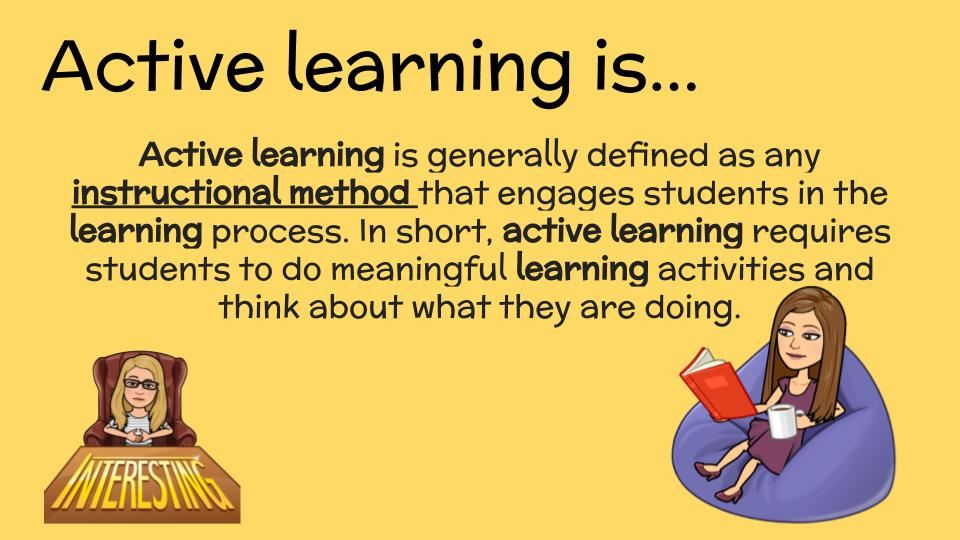 Definition of Active Learning
