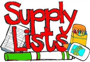 Supply List Art