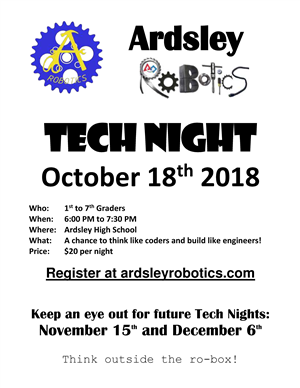 Ardsley Tech Night
