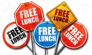 Free Lunch Signs
